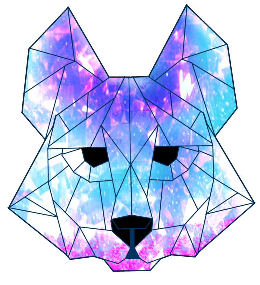 svg royalty free Galaxy Crystal Wolf by ToxicUndead on DeviantArt