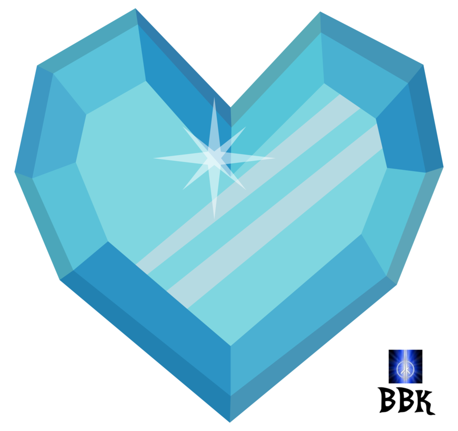 clipart royalty free library Crystal Heart Drawing at GetDrawings