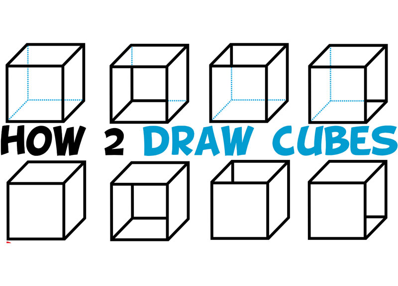 svg free library How to Draw a Cube