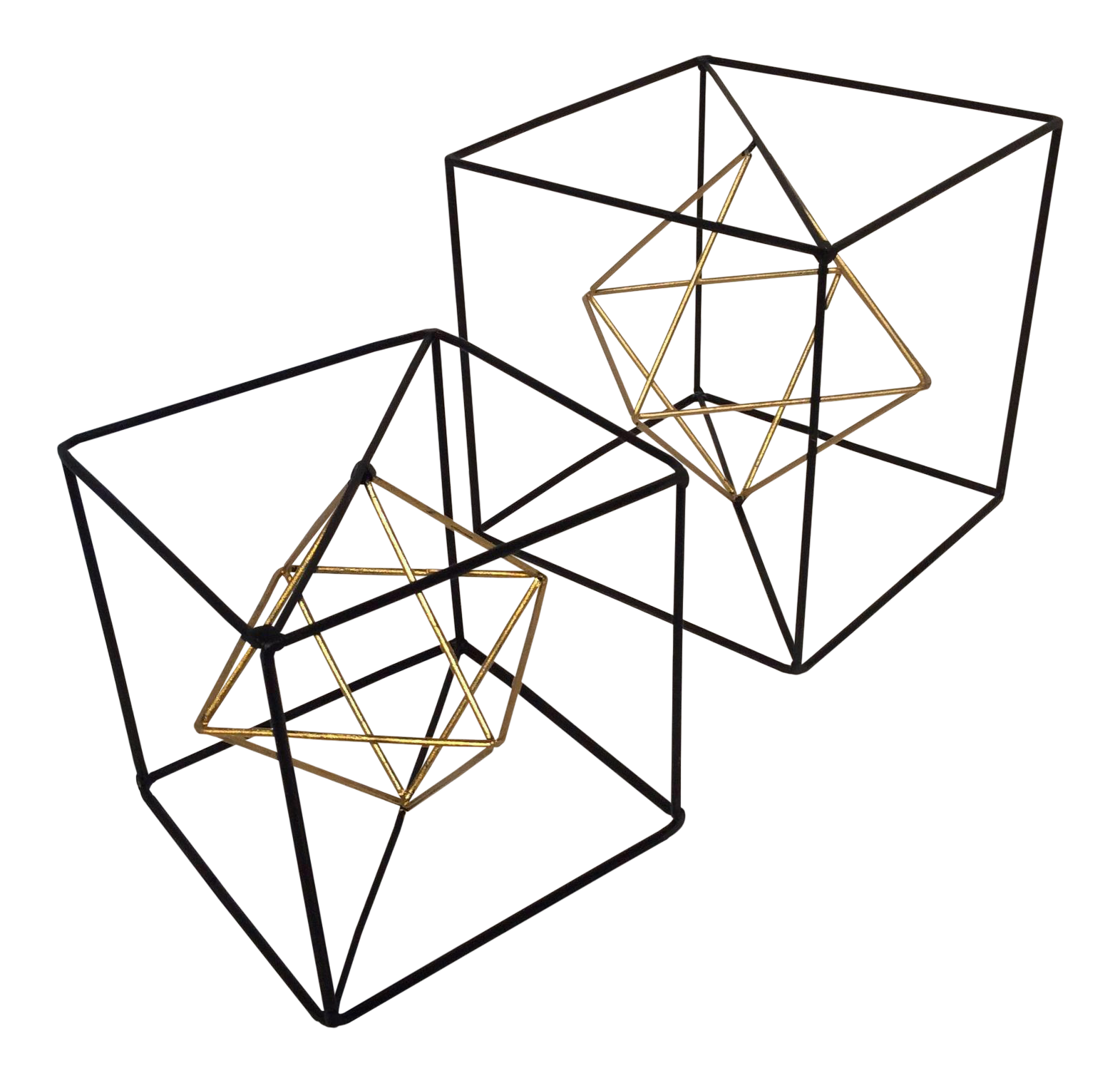 clipart library library Geometric Metal Cubes