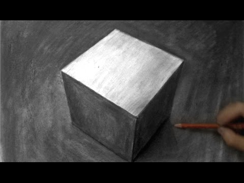 banner freeuse How to Draw an Realistic Cube