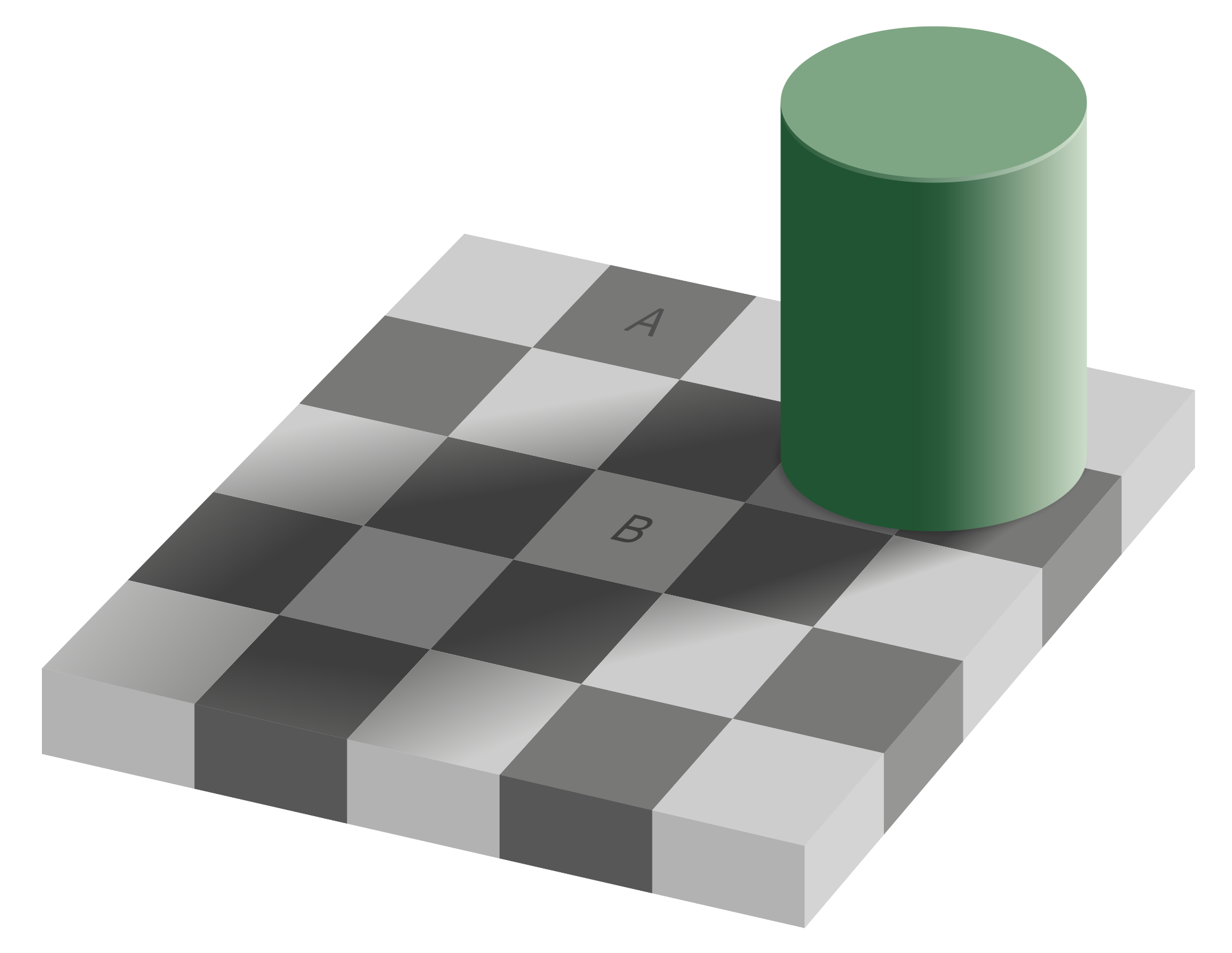 free download Checker shadow illusion