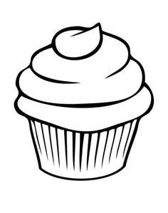 picture free stock How to draw a. Drawing cupcake cartoon