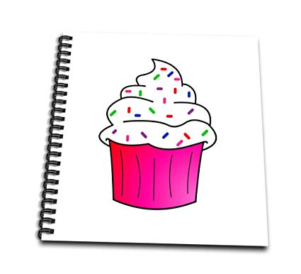clip art royalty free stock  drose yummy pink. Drawing cupcake cartoon