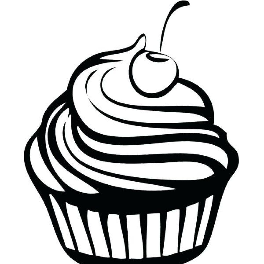 stock Drawing cupcake cartoon. Free download best