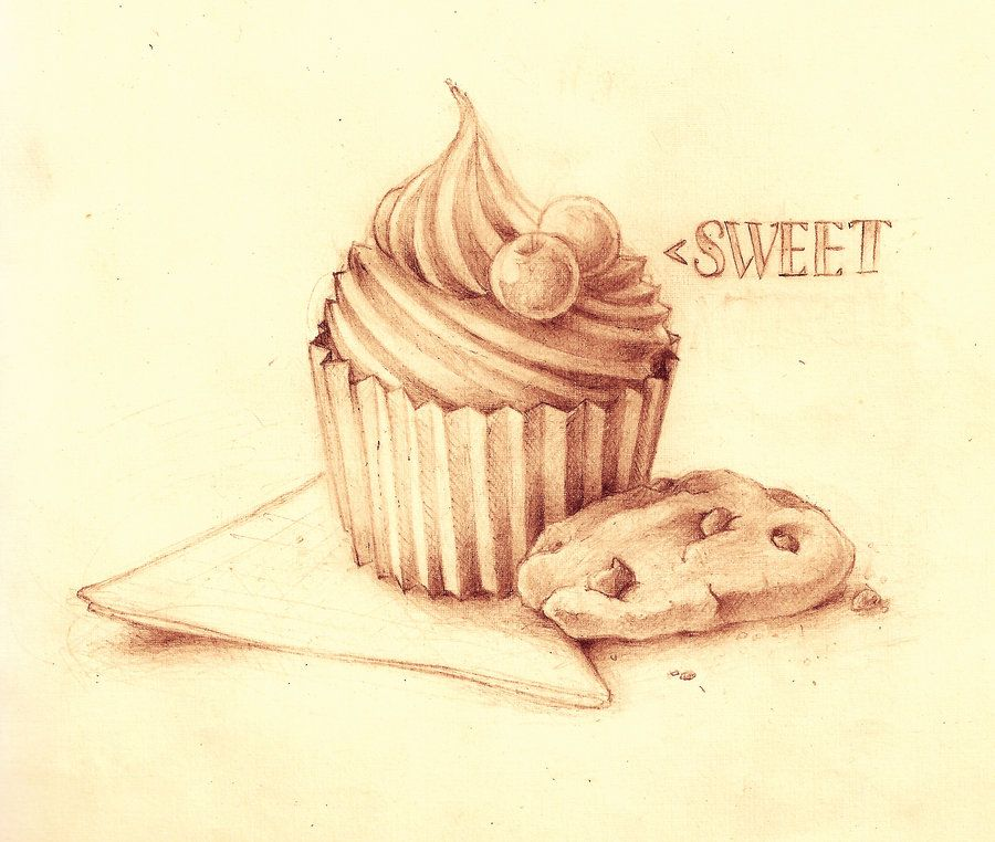 svg library download Pencil google search still. Drawing cupcake cookie