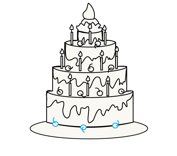 image freeuse download Cartoon Cake Drawing at GetDrawings