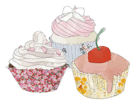image black and white library Cupcake Drawing Template at GetDrawings