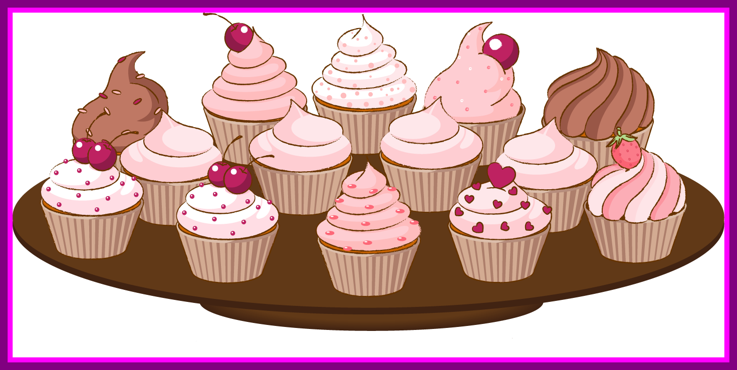 clipart royalty free stock Unbelievable Clip Art Of A Cupcake With Sprinkles Cake Clipart Best