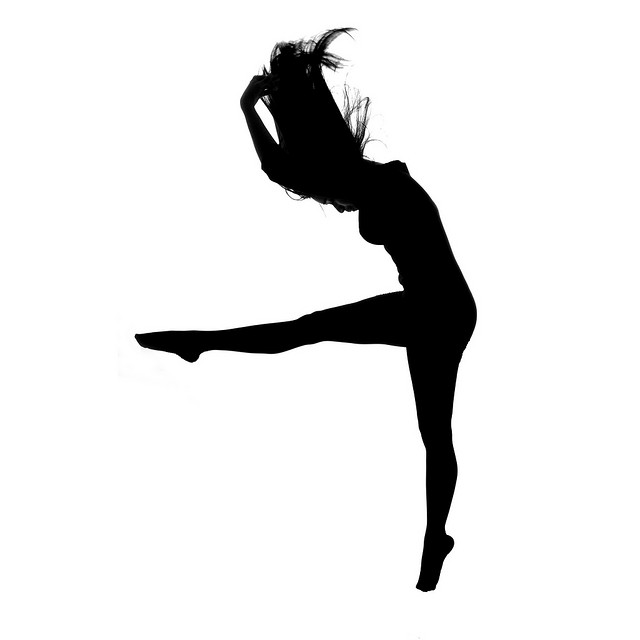 freeuse download Contemporary Dancer Silhouette at GetDrawings