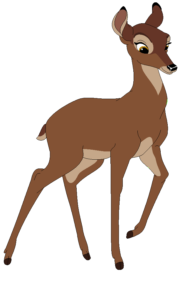 clipart black and white Pin by ella on. Drawing deer bambi