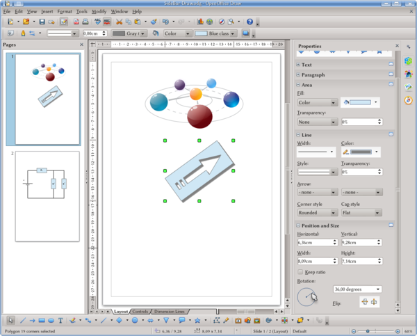 clip free download Getting to know Apache OpenOffice Draw