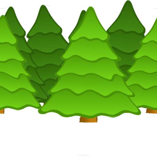 svg freeuse download Vector cartoons forest.  cartoon png for