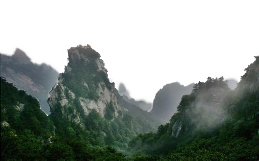 picture free Drawing nature mountain. Technical fog jungle mountains