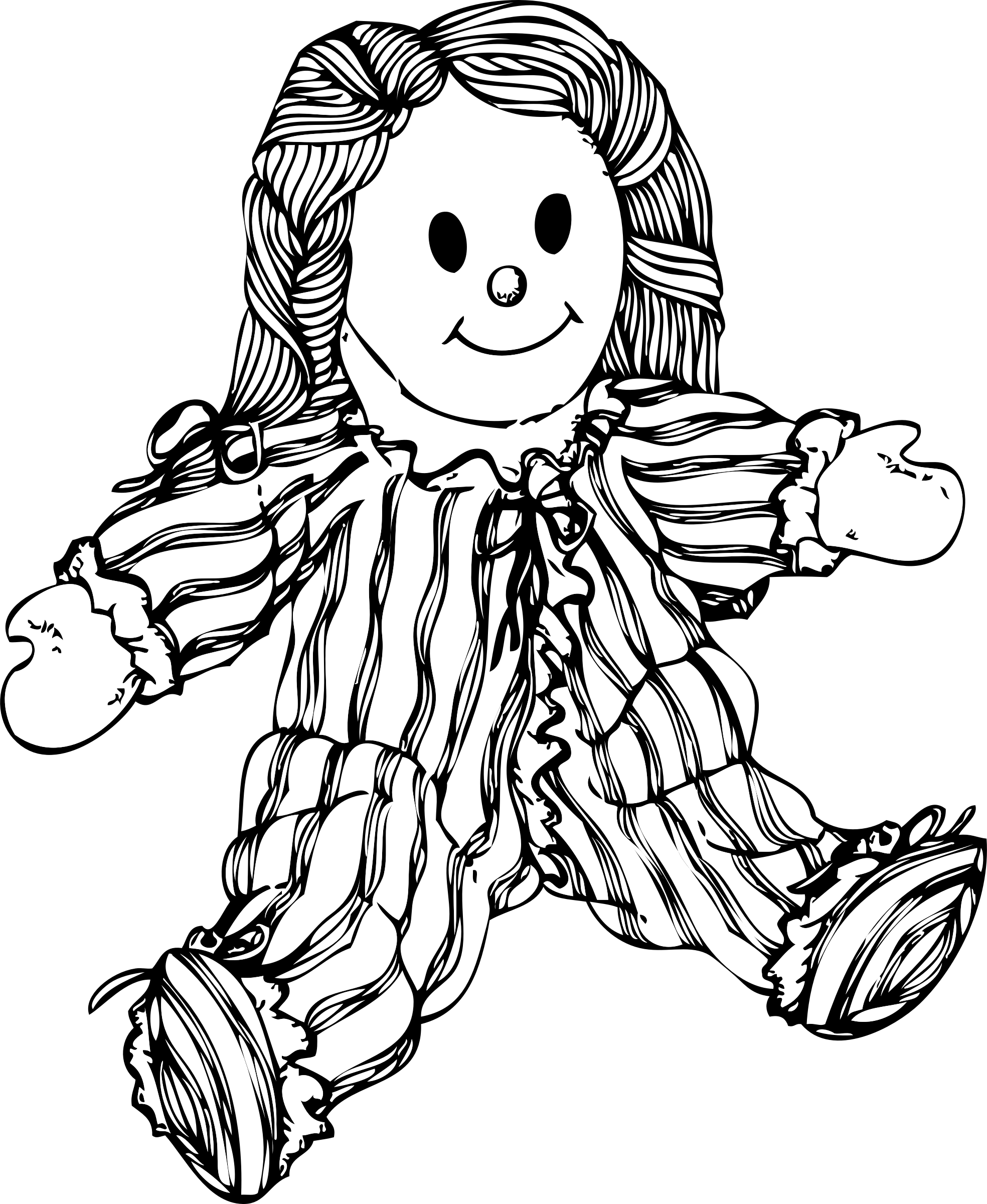 clip art freeuse download Collection of free Doll drawing animated