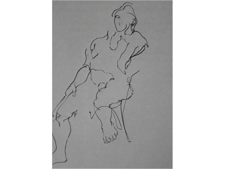 graphic freeuse stock Collection of free Blind drawing regular contour