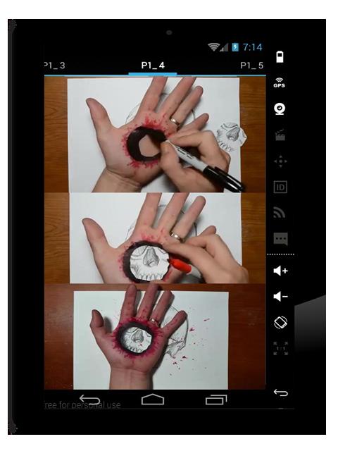 image transparent download timelapse drawing trick art #104880265