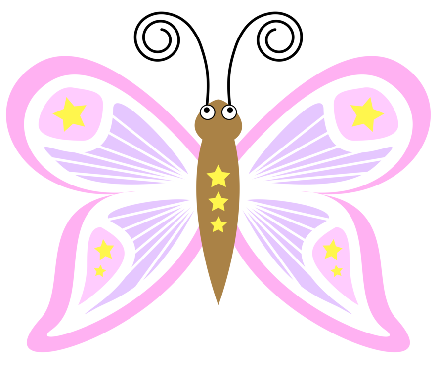 banner library Butterfly effect Cartoon Drawing free commercial clipart