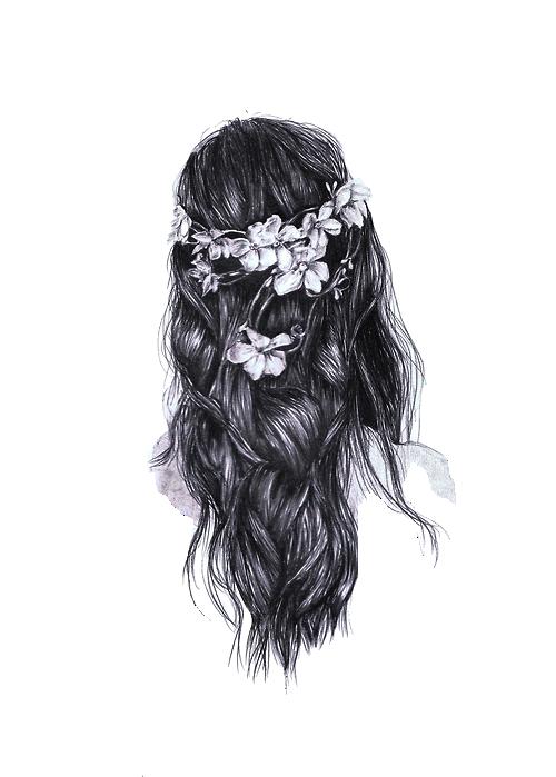 graphic fashion girl sketch tumblr