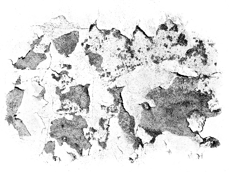picture black and white Vector cracks grunge.  rust png texture