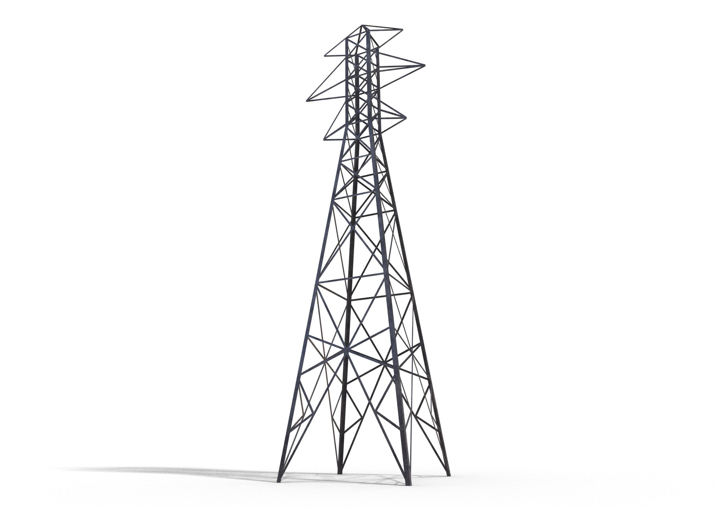 picture freeuse electrical tower drawing
