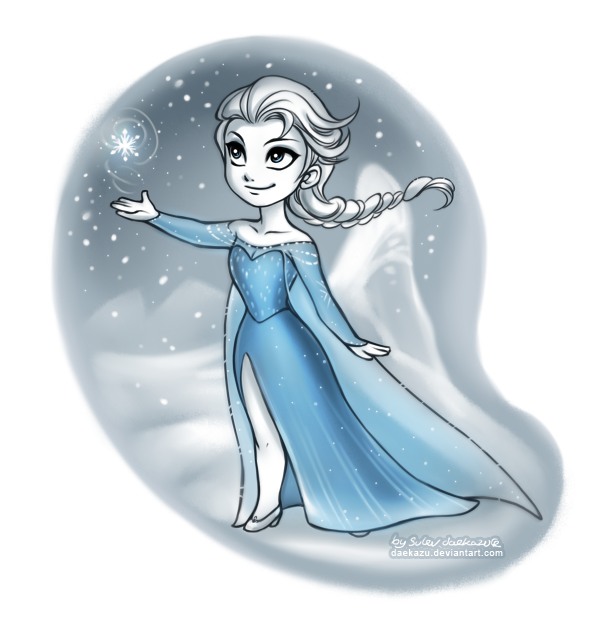 picture free library Winter Elsa by daekazu on DeviantArt