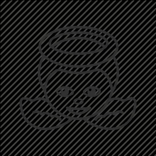vector transparent stock drawing emoji angel #111759698