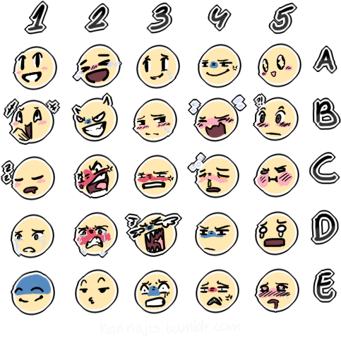 clip library stock drawing emojis chart #111767258