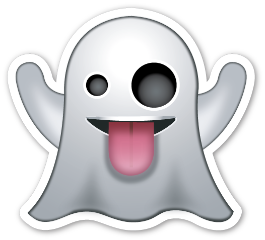 banner free drawing emojis ghost #111765558