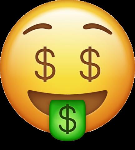vector Money Emoji Icon