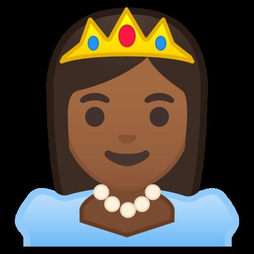 svg freeuse download drawing emoji princess #111759966