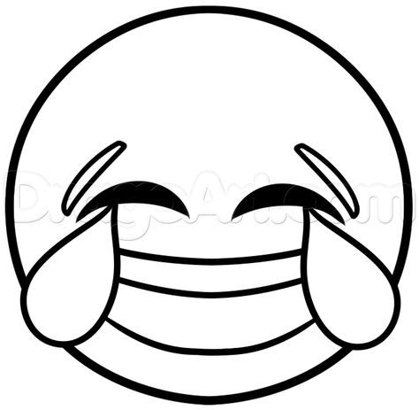 clip transparent stock how to draw laughing emoji step
