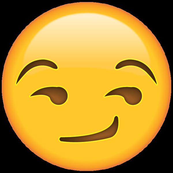png free Smirk Face Emoji