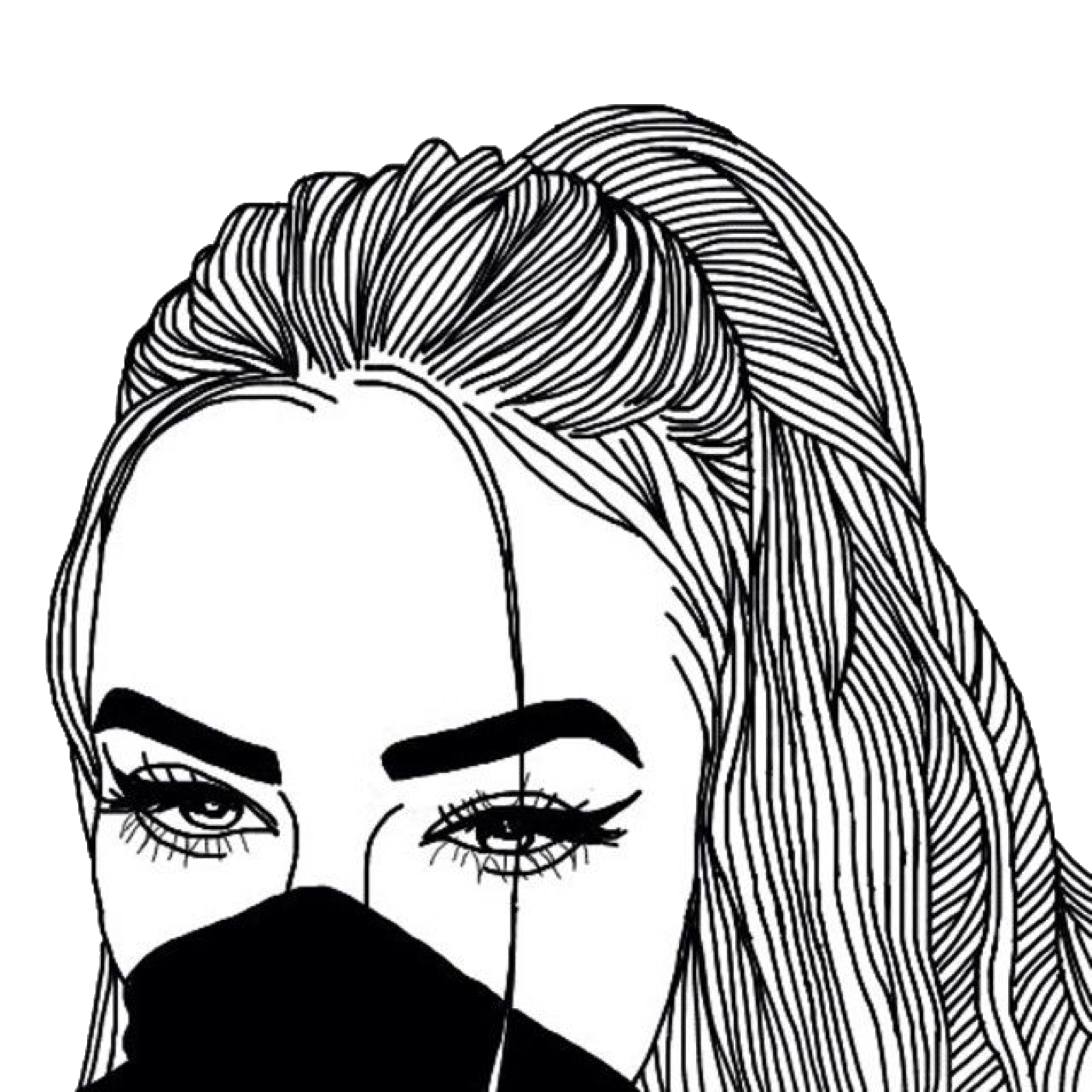 clip art black and white stock Eyes Tumblr Drawing at GetDrawings
