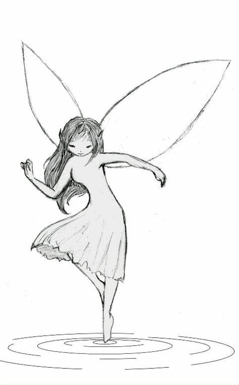 picture freeuse library Wings sketch at paintingvalley. Drawing fairy.