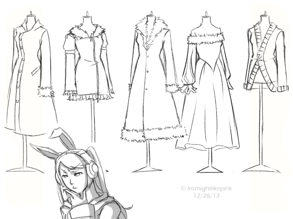 clipart transparent stock drawing fashions designer clothes #94104729