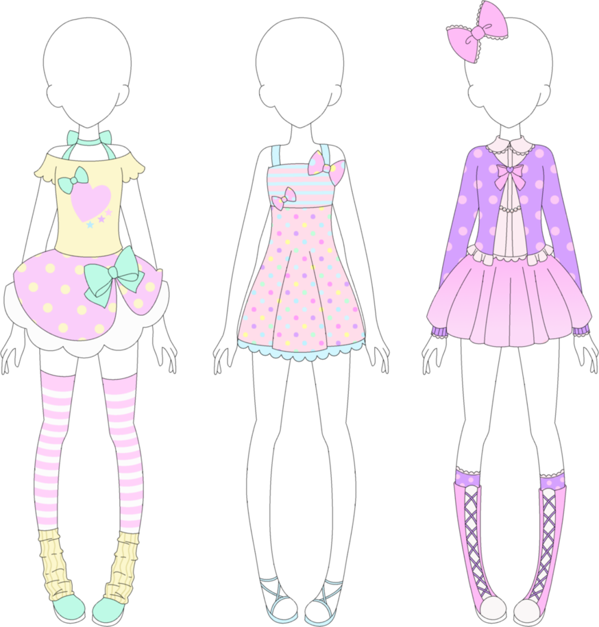 banner Mra fairy kei by. Drawing ref clothing