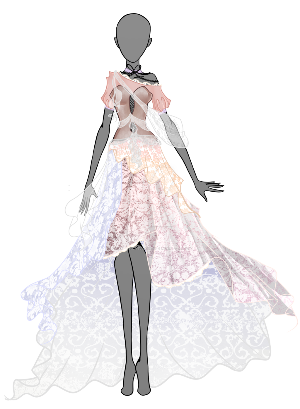 jpg transparent library Spring Dream Dress auction