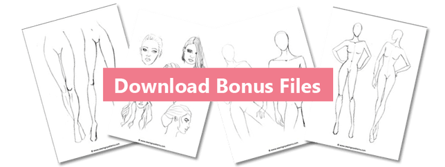 vector royalty free library How to color fashion design sketches