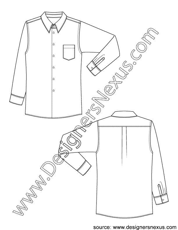 svg transparent stock Classic Mens Dress Shirt V