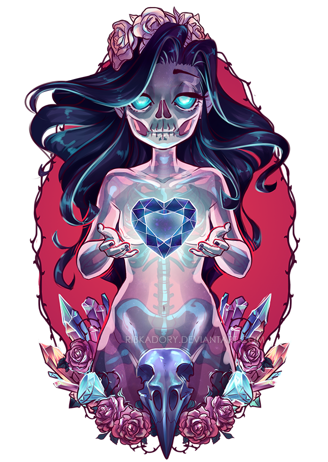 banner royalty free download Girl drawloween by ribkadory. Drawing females ghost