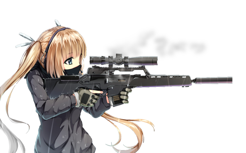 png royalty free download Gun Girl