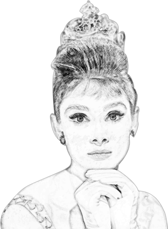 picture transparent download Black and white art. Drawing portrait pencil