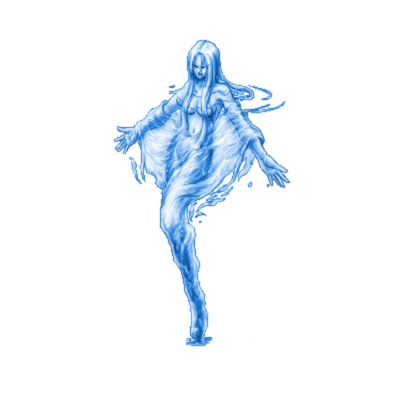 png royalty free Water Naiad