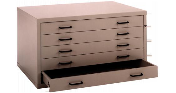 graphic  file drawer metal. Drawing storage cabinet