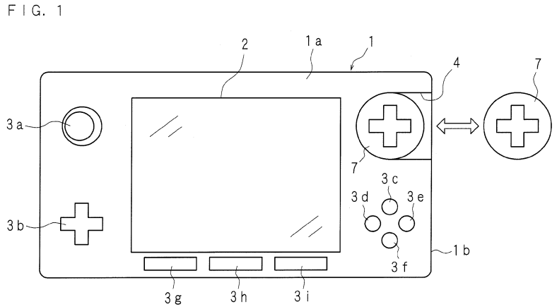 png black and white stock Drawing files portable. Nintendo patent for device.