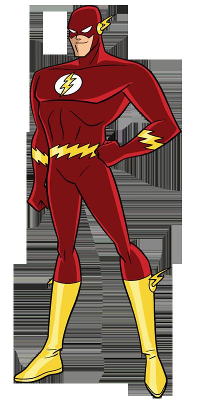 clipart transparent download JL The Flash by Alexbadass