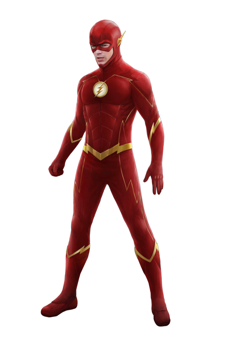 banner free Official new suit concept. Drawing flash season 4