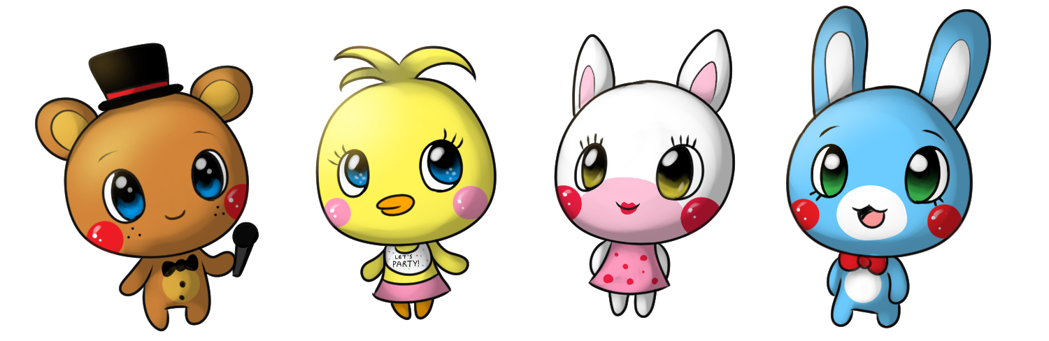 clip art transparent drawing fnaf adorable #111839751