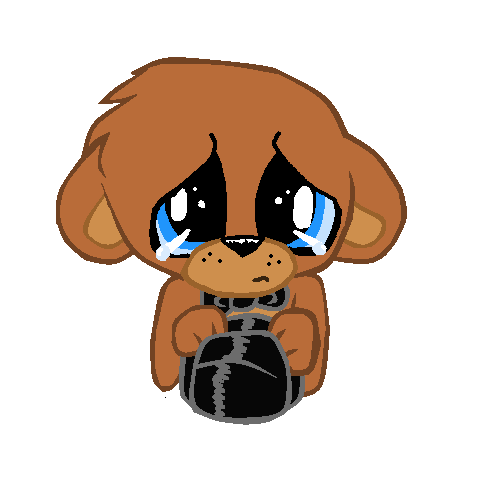 vector royalty free Sad Freddy by TheLooneyCharboa on DeviantArt